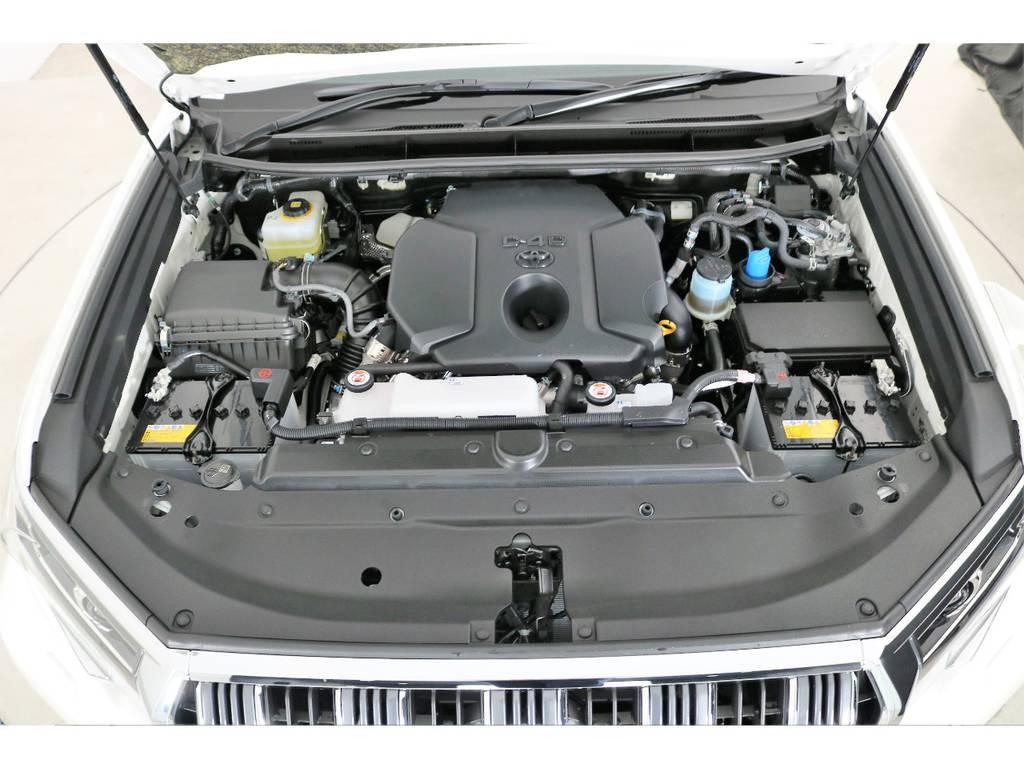 店舗敷地内に工場完備ですので車検から整備までお任せください。 | トヨタ ランドクルーザープラド 2.8 TX Lパッケージ ディーゼルターボ 4WD 7人 新車未登録車 9インチUP