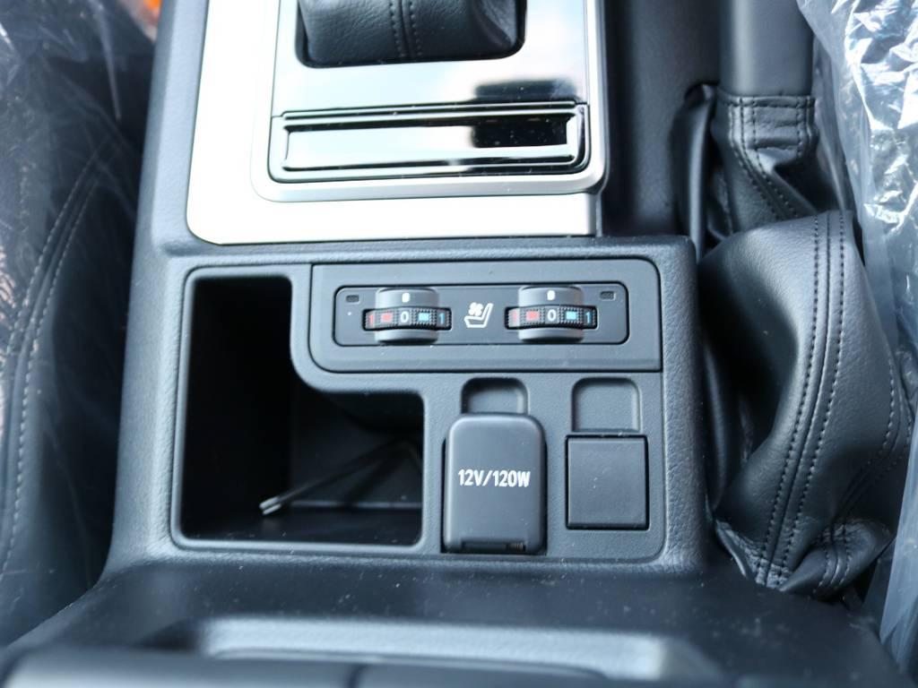 シートエアコン付き! | トヨタ ランドクルーザープラド 2.8 TX Lパッケージ ディーゼルターボ 4WD 7人 新車未登録車 9インチUP