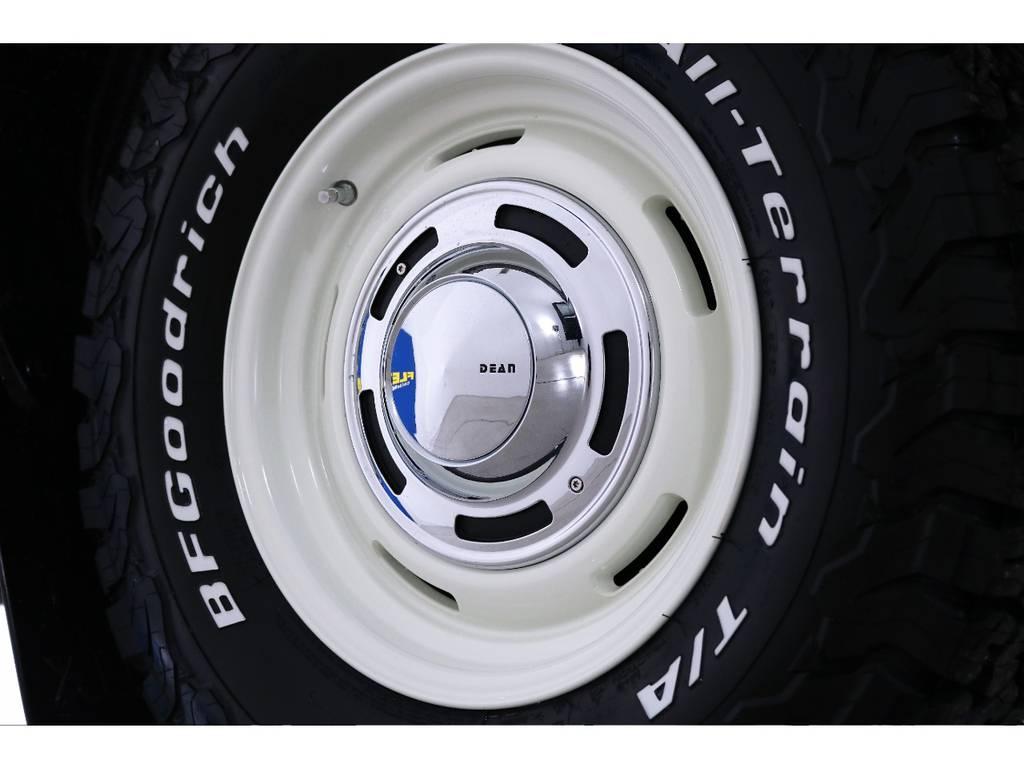 新品DEAN16インチホイール&新品BFグッドリッチATタイヤを装着致しました! | トヨタ ハイラックス 2.4 Z ディーゼルターボ 4WD Z 新車未登録車 11インチナビ