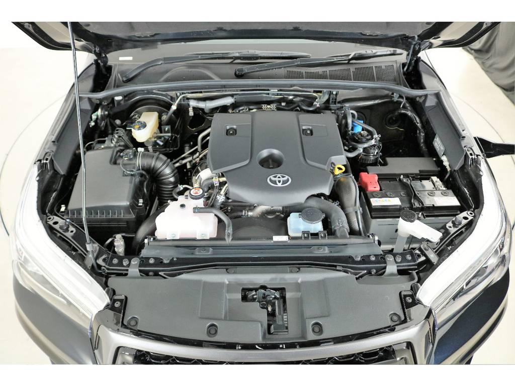 店舗敷地内に工場完備ですので車検から整備までお任せください。 | トヨタ ハイラックス 2.4 Z ディーゼルターボ 4WD Z 新車未登録車 11インチナビ