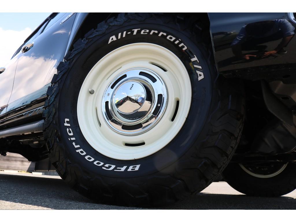 新品DEAN16インチホイール&新品BFグッドリッチ265ATタイヤを装着致しました!