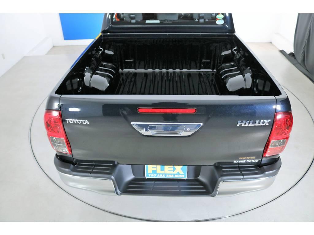 使い勝手自由なピックアップトラック! | トヨタ ハイラックス 2.4 Z ディーゼルターボ 4WD Z 新車未登録車 11インチナビ