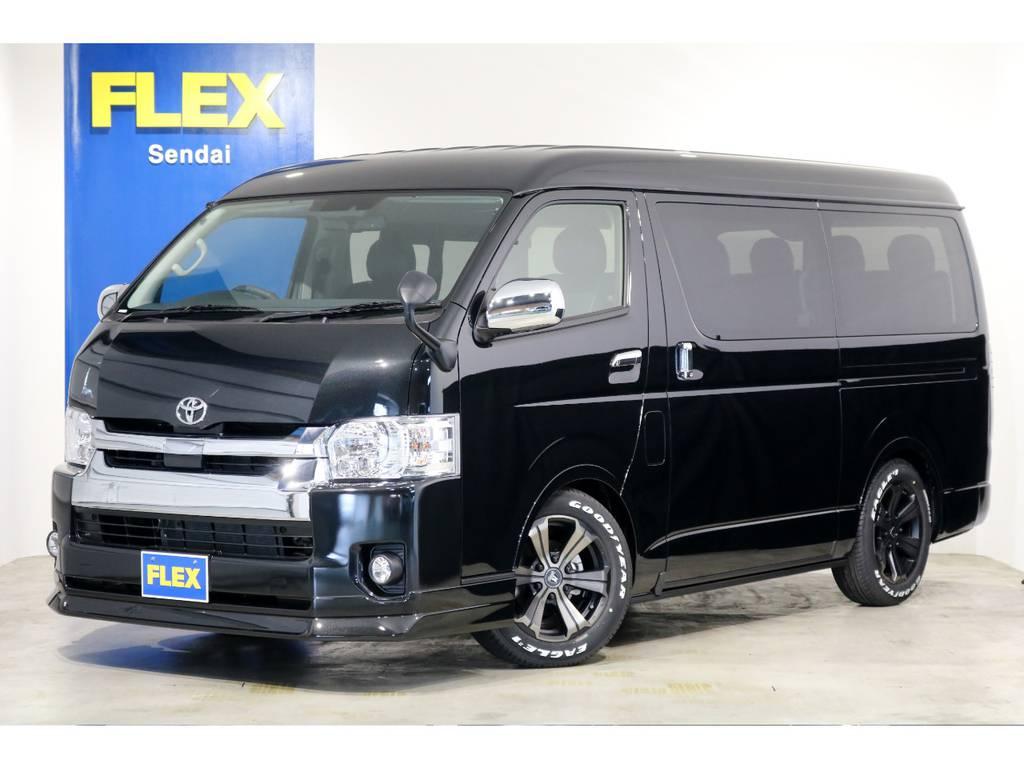 新車 ワゴンGL 4WD 寒冷地仕様 トヨタ・セーフティ・センス搭載!オリジナル内装架装「アレンジAS」!