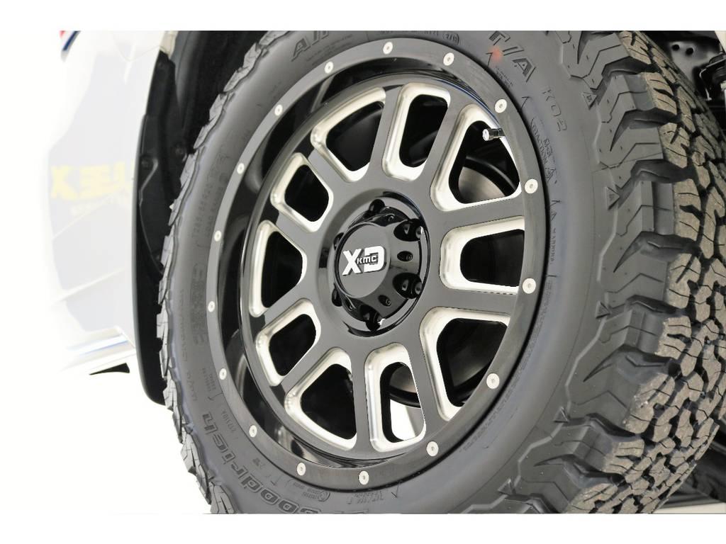 新品XD20インチホイール&新品BFグッドリッチATタイヤを装着致しました! | トヨタ ランドクルーザープラド 2.8 TX ディーゼルターボ 4WD 5人 新車未登録車 9インチナビ
