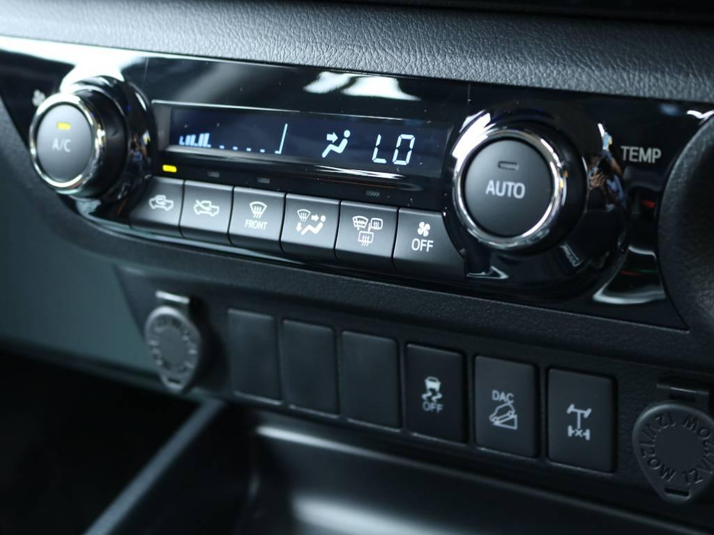 ダウンヒルアシストコントロール、リヤデフロックも標準装備♪ | トヨタ ハイラックス 2.4 Z ディーゼルターボ 4WD Z 11ナビ 20AW&KO2 2UP