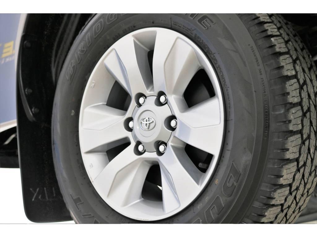 お好きなホイールもご相談ください! | トヨタ ハイラックス 2.4 Z ディーゼルターボ 4WD Z 新車未登録車 11インチナビ