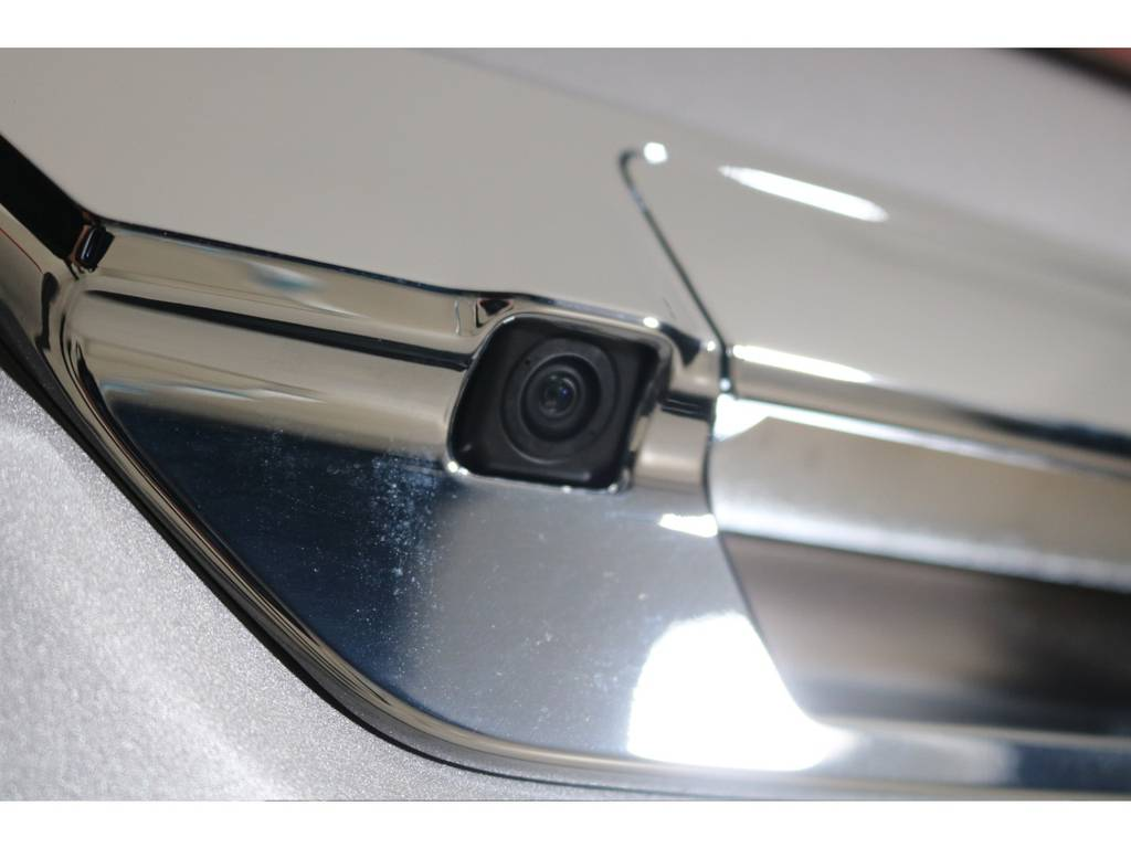純正バックカメラを流用! | トヨタ ハイラックス 2.4 Z ディーゼルターボ 4WD Z 新車未登録車 11インチナビ