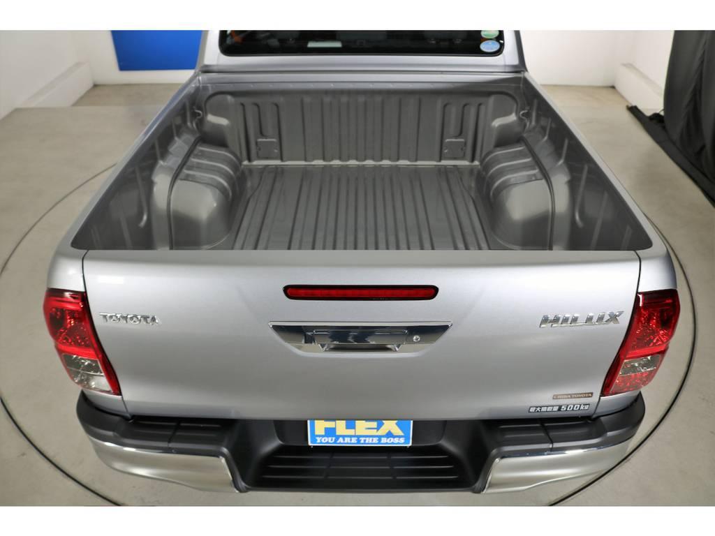 トノカバーも多種取り扱いがございますのでご相談ください。 | トヨタ ハイラックス 2.4 Z ディーゼルターボ 4WD Z 新車未登録車 11インチナビ