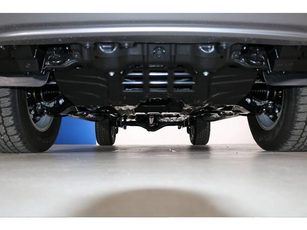 ご希望がございましたら下廻り防腐パスター仕上げもできます!お気軽にご相談ください! | トヨタ ハイラックス 2.4 Z ディーゼルターボ 4WD Z 新車未登録車 11インチナビ