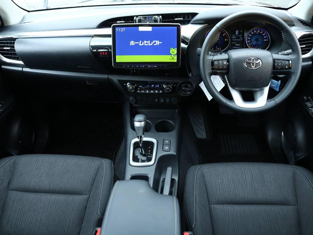 FLEXグループは「すべての人に愛車を」をコンセプトに車種別に全国展開中★   トヨタ ハイラックス 2.4 Z ディーゼルターボ 4WD Z 11インチナビ&バックカメラ&ETC