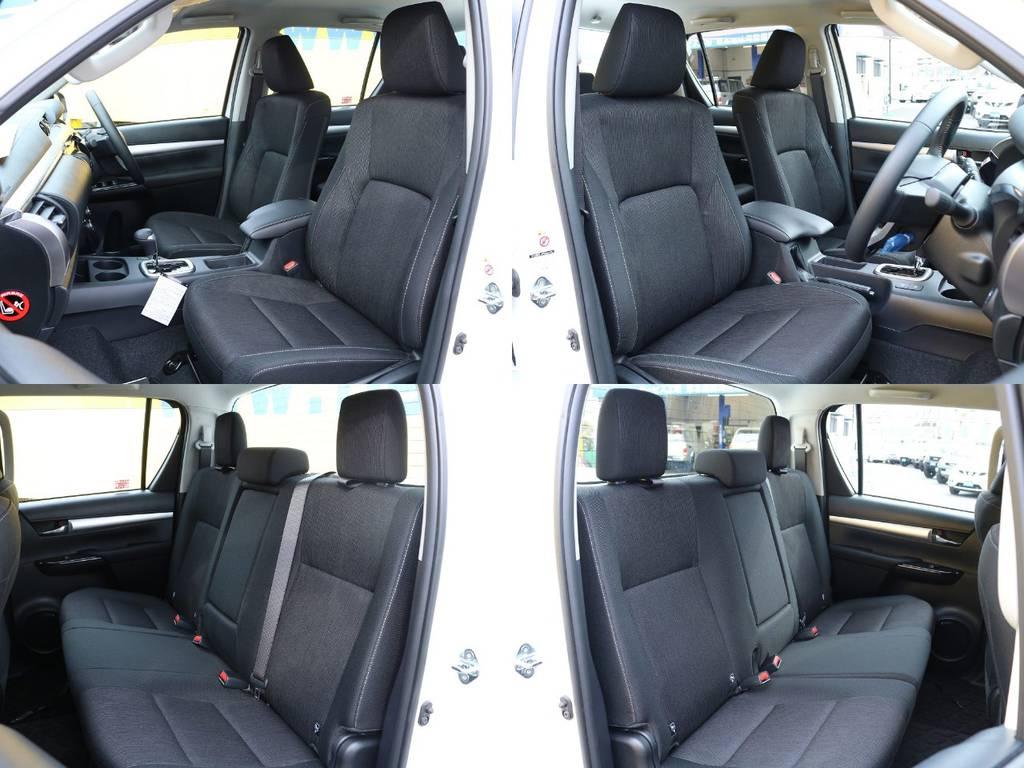 各シート★ | トヨタ ハイラックス 2.4 Z ディーゼルターボ 4WD Z ROCCO仕様 リフトUP 17AW