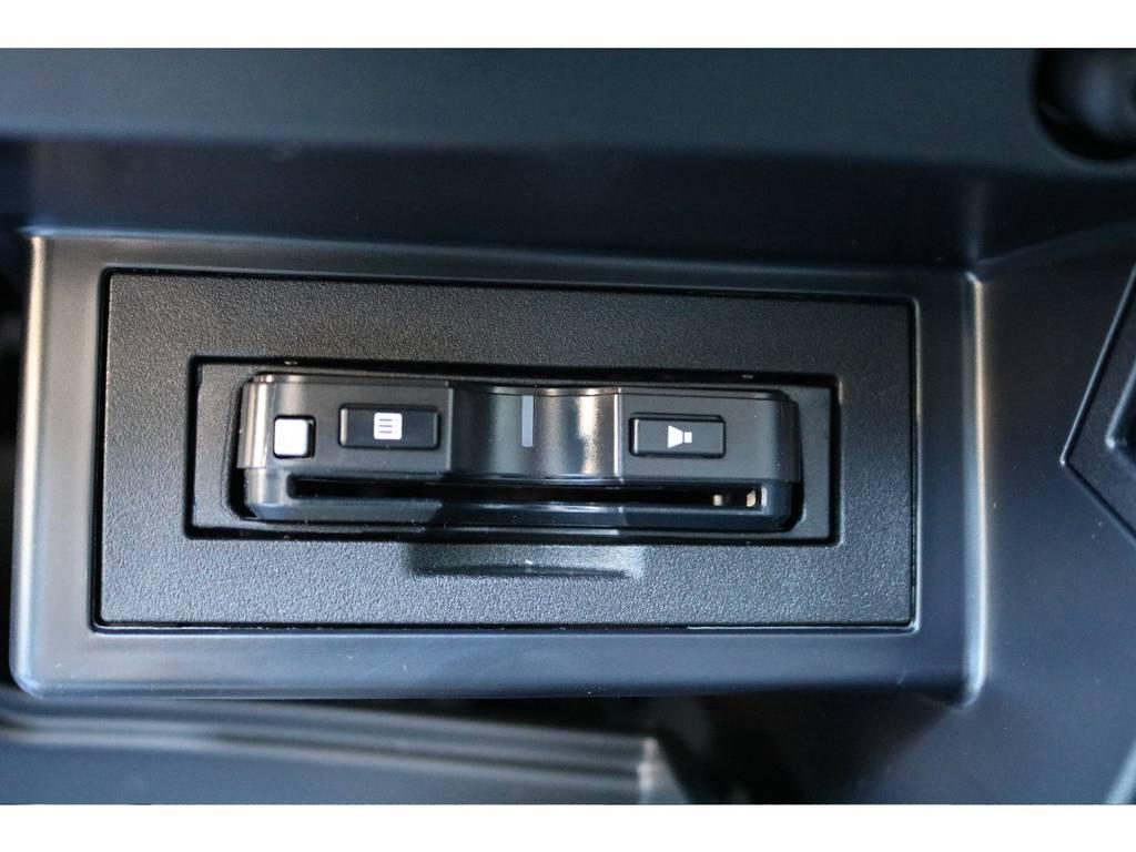 必需品のETCも新品装着! | トヨタ ランドクルーザープラド 2.8 TX ディーゼルターボ 4WD 7人 新車未登録車 9インチナビ