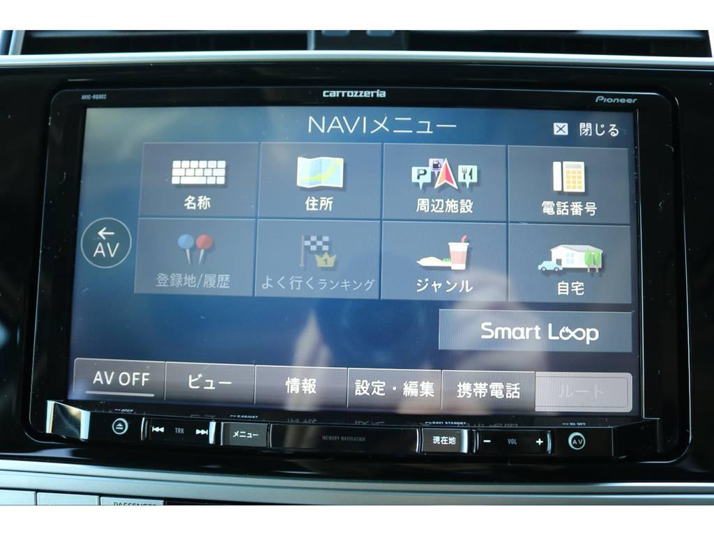カロッツェリア製9インチナビも新品装着!大画面でTVやDVDを視聴できます!   トヨタ ランドクルーザープラド 2.8 TX ディーゼルターボ 4WD 5人 新車未登録車 9インチナビ