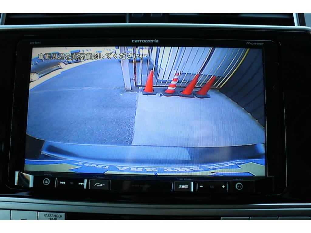 バックカメラも大画面で安全視界!   トヨタ ランドクルーザープラド 2.8 TX ディーゼルターボ 4WD 5人 新車未登録車 9インチナビ