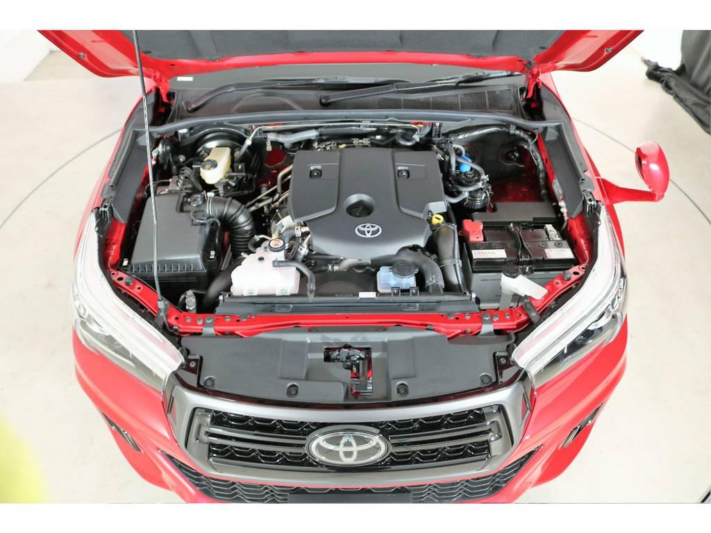 2,4リッターディーゼルターボエンジン☆ | トヨタ ハイラックス 2.4 Z ブラック ラリー エディション ディーゼルターボ 4WD 新車未登録車 11インチナビ