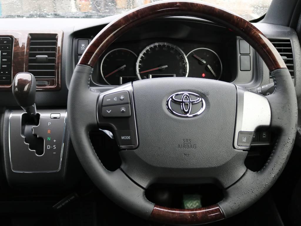 コンビハンドル&シフトノブ! | トヨタ ハイエースバン 2.8 スーパーGL 50TH アニバーサリー リミテッド ロングボディ ディーゼルターボ 4WD 50THナビPK