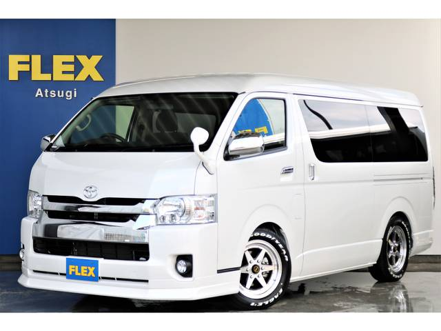 新車未登録 待望のファインテックツアラー ETC2.0搭載 2.7L ガソリン 2WD カスタム済み