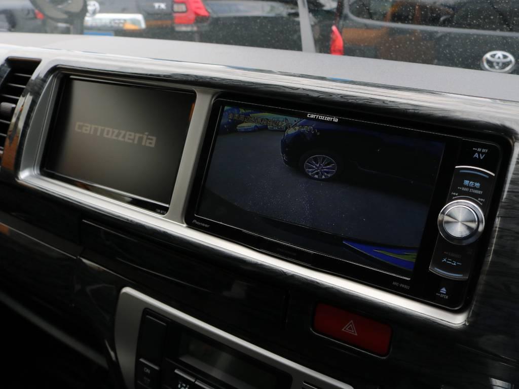 Bluetooth対応!様々な機能が盛りだくさんのパイオニアのSDフルセグナビ搭載♪