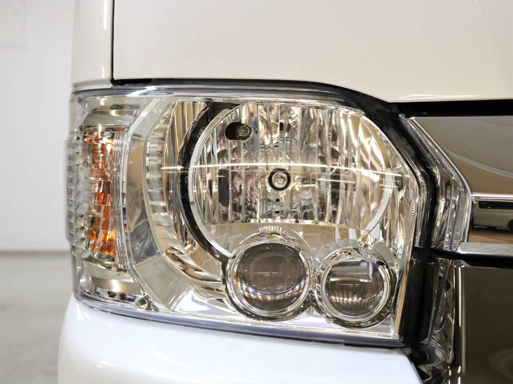 50th標準装備LEDヘッドライト! | トヨタ ハイエースバン 2.7 スーパーGL 50THアニバーサリー リミテッド ワイド ミドルルーフ ロングボディ4WD 50TH