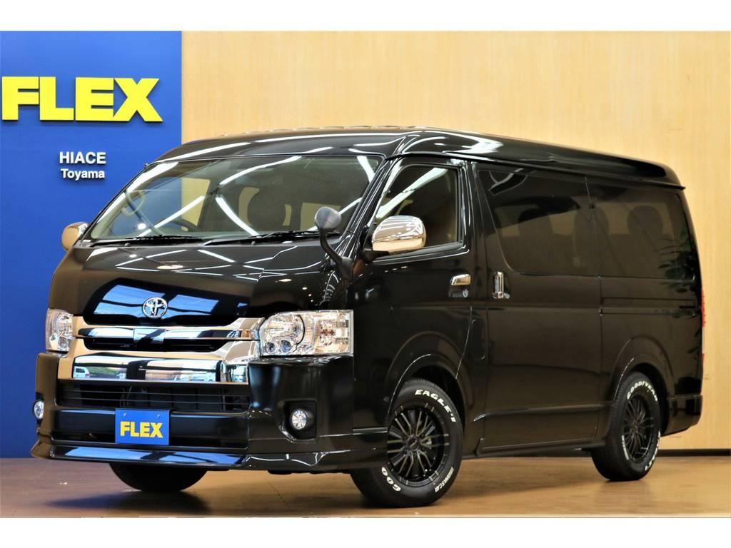 ハイエース 2.7 GL ロング ミドルルーフ 4WD TEL076-471-439