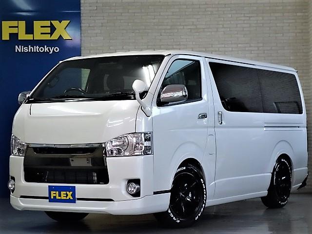 新車ハイエースV50周年特別仕様車ESSEXフルエアロKITコンプリートカー入庫致しました!!