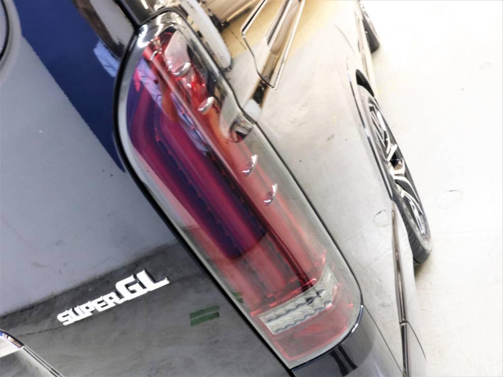 FLEXオリジナル【アルティメットREVO2】LEDテールランプ!流れるウィンカー!