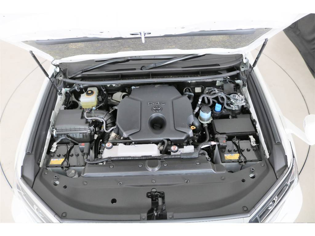 ディーゼルターボ2800cc☆ | トヨタ ランドクルーザープラド 2.8 TX ディーゼルターボ 4WD 7人 新車未登録車 9インチナビ