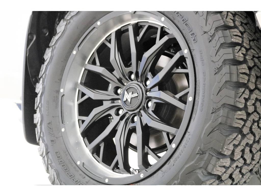 新品20インチナイトロパワータイヤホイール☆ | トヨタ ランドクルーザープラド 2.8 TX ディーゼルターボ 4WD 7人 新車未登録車 9インチナビ