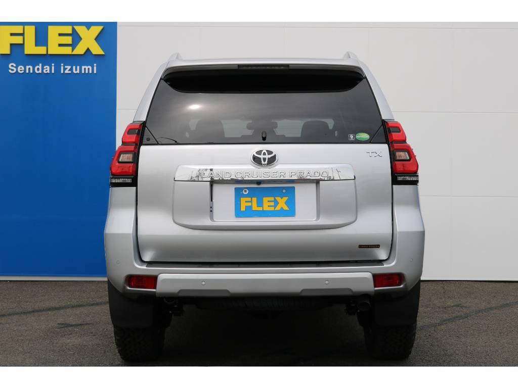 FLEXグループは「すべての人に愛車を」をコンセプトに車種別に全国展開中★愛車と一緒に、ライフスタイルを充実させてもらいたいという思いでランクル仙台泉店では皆様のご要望になんでもお応えします★ | トヨタ ランドクルーザープラド 2.8 TX ディーゼルターボ 4WD 5人 17AW&KO2 9ナビBカメ