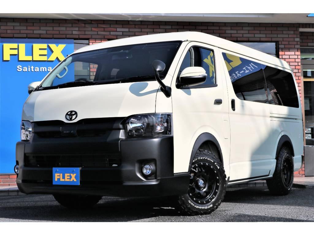 ハイエースワゴンGL4WD寒冷地仕様アレンジR1内装架装!!