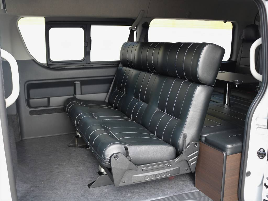 FLEXオリジナルシートAS・新車ワゴンGL2WD TSS付き入庫そました♪ | トヨタ ハイエース 2.7 GL ロング ミドルルーフ アレンジAS トリプルモニター