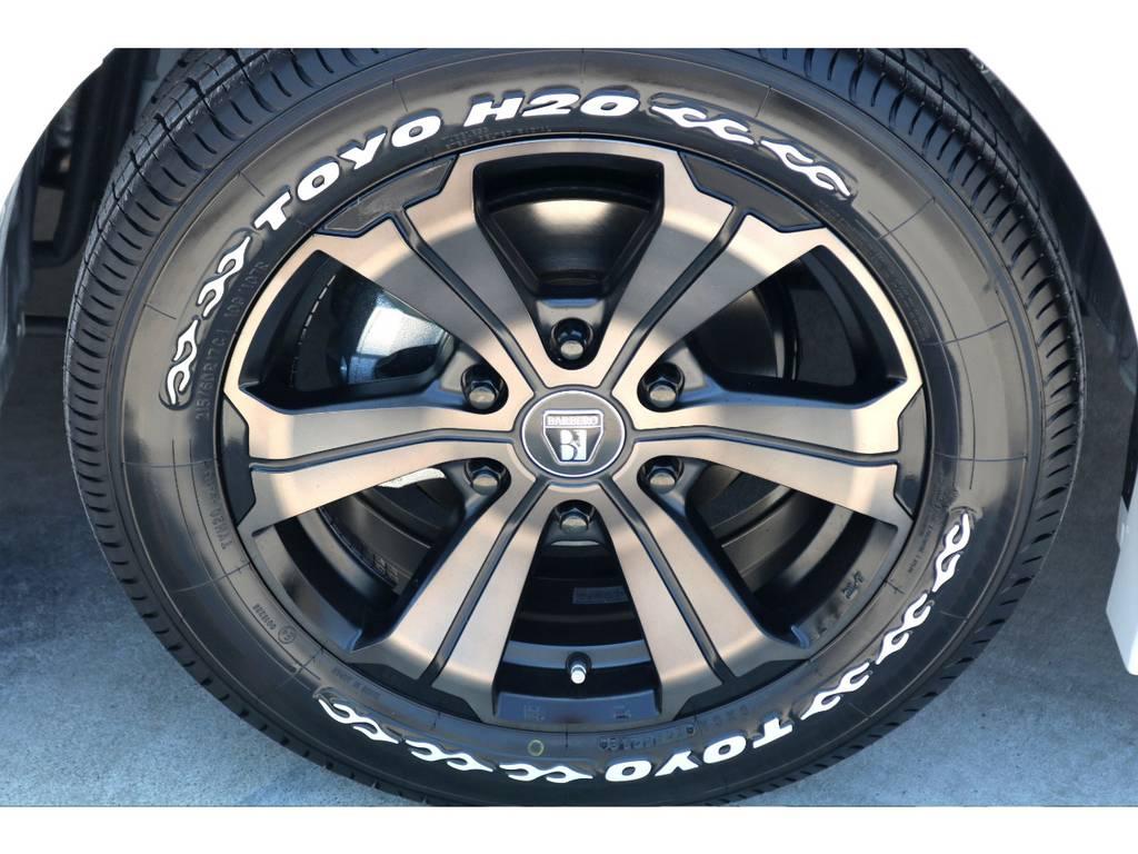 TOYO H20タイヤを合わせて装着♪FLEX以外ではお取り扱いの出来ない豪華なセットです!