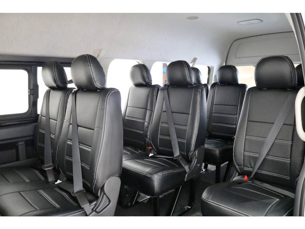 3ナンバー10人乗りシート! | トヨタ ハイエース 2.7 グランドキャビン 4WD