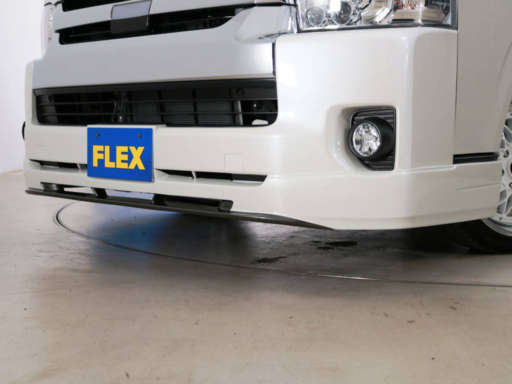FLEXオリジナル フロントリップスポイラー Ver2!