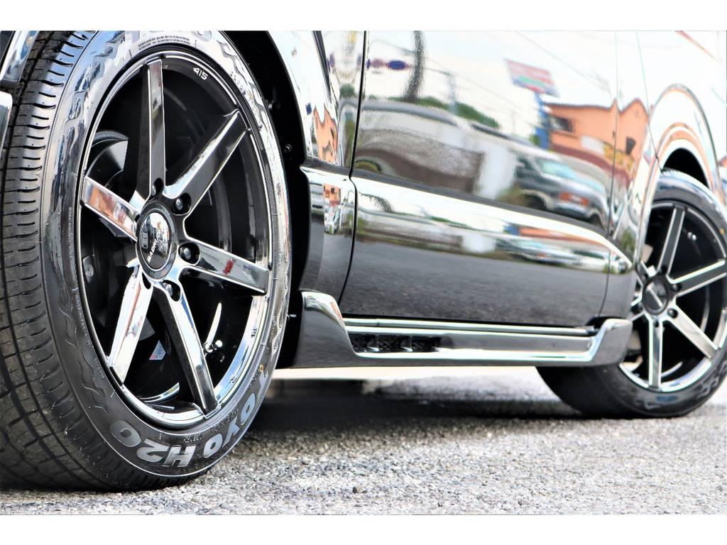 LT規格H20タイヤ!! | トヨタ ハイエースバン 2.0 スーパーGL 50TH アニバーサリー リミテッド ロングボディ 415コブラフルエアロ