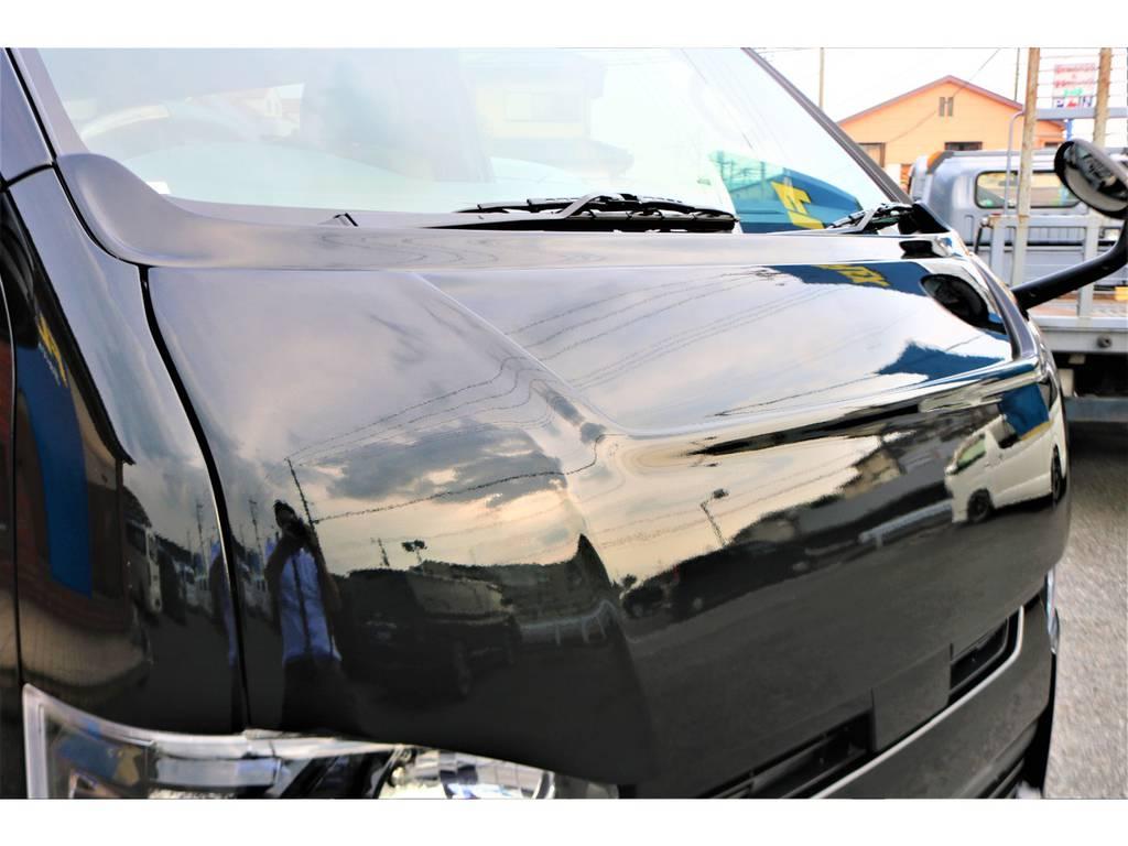 ボンネット&ワイパーカウル装備!! | トヨタ ハイエースバン 2.0 スーパーGL 50TH アニバーサリー リミテッド ロングボディ 415コブラフルエアロ