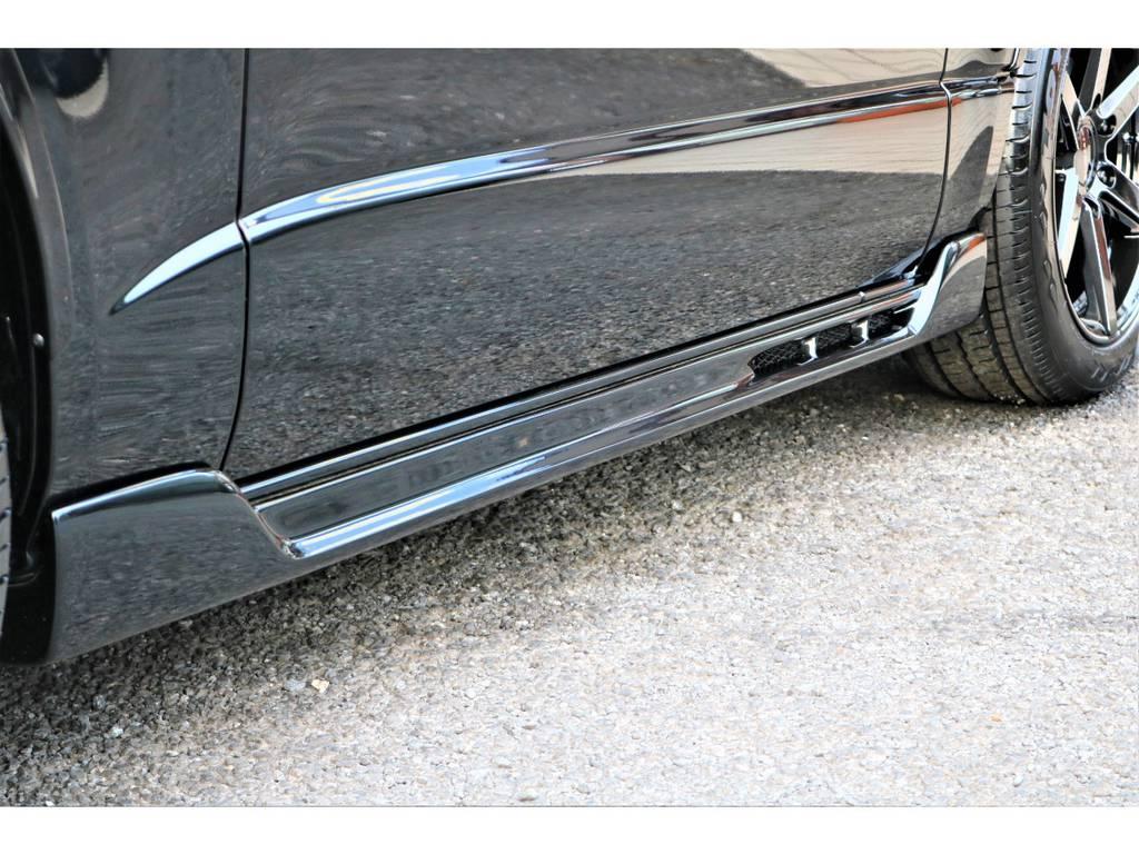 C2サイドステップ!! | トヨタ ハイエースバン 2.0 スーパーGL 50TH アニバーサリー リミテッド ロングボディ 415コブラフルエアロ