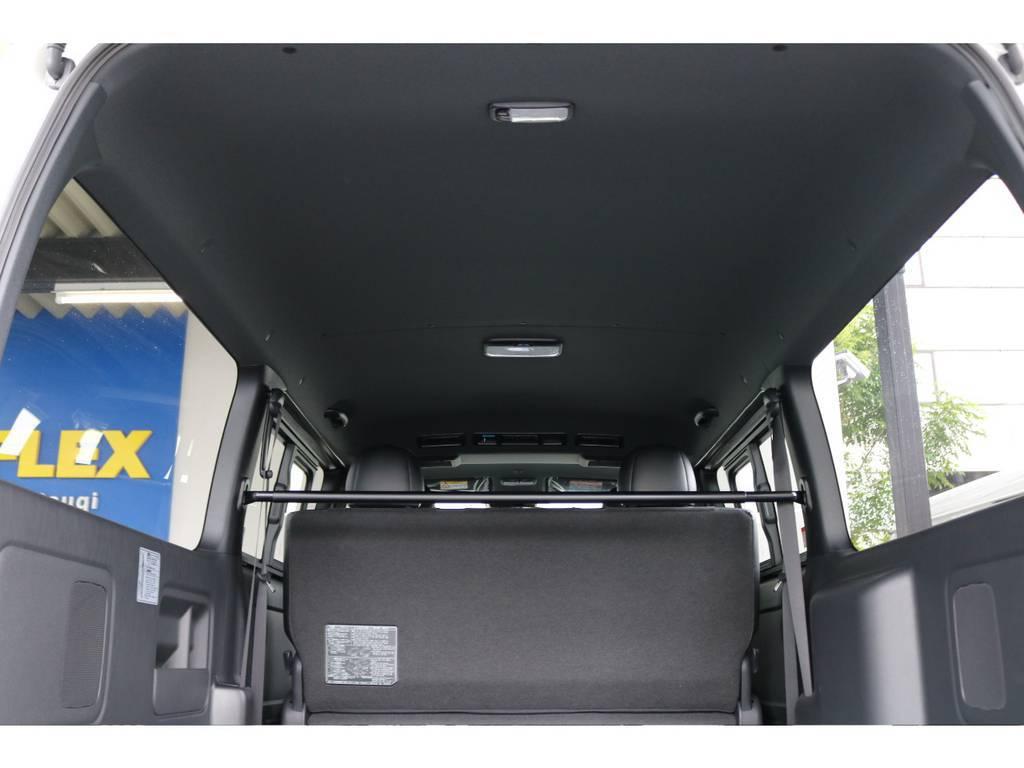 特別仕様車ダークプライムⅡは車内が黒で統一されています★