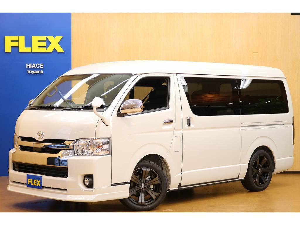 ハイエース 2.7 GL ロング ミドルルーフ 4WD FLEX Ver.2♪