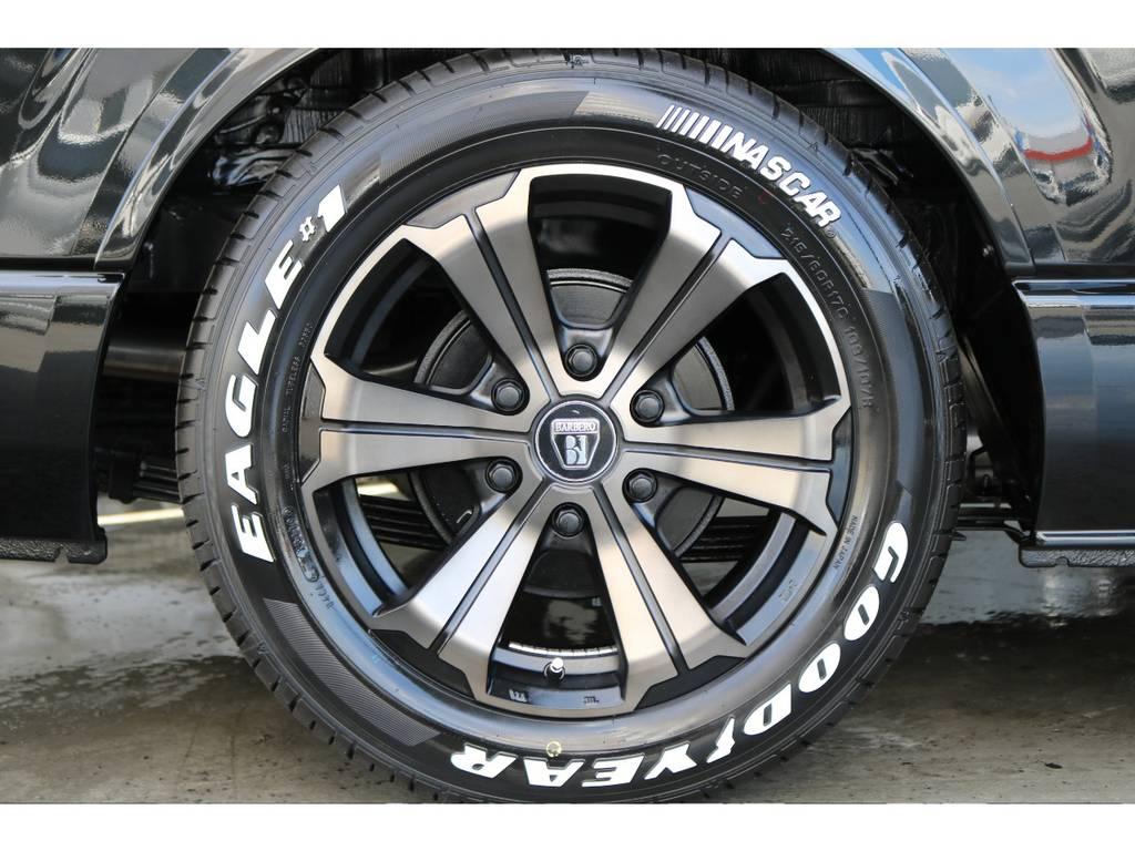 新品!バルベロ アーバングランデ17インチAW/グッドイヤーイーグルワンナスカー17インチタイヤ