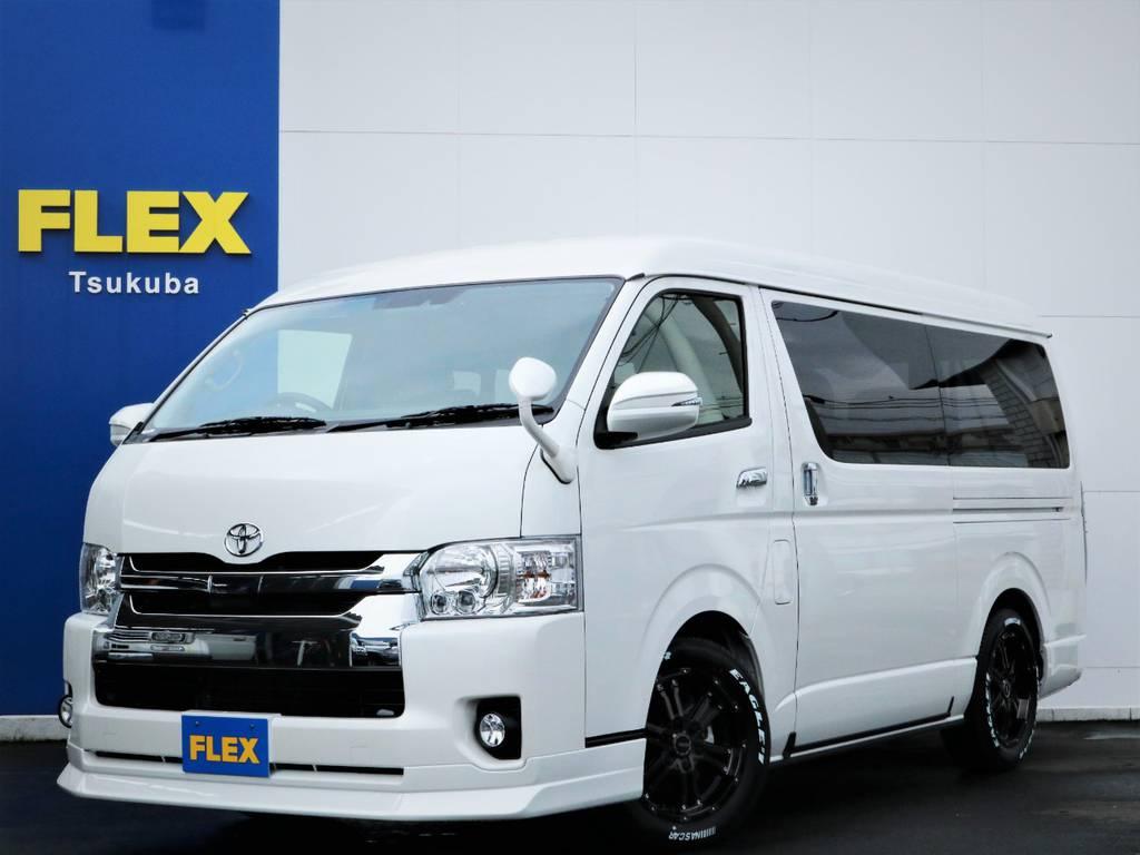 新車ハイエースW「GL」10人乗り4WDガソリン車!内装アレンジVER5!