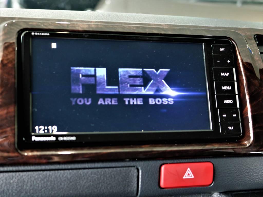 ※音楽録音・DVD再生・フルセグ・Bluetooth接続可! | トヨタ ハイエースバン 2.0 スーパーGL 50TH アニバーサリー リミテッド ロングボディ