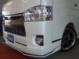 新車ハイエースV50周年特別仕様車415コブラフルエアロKIT完成しました!!スポーティーな1台!!