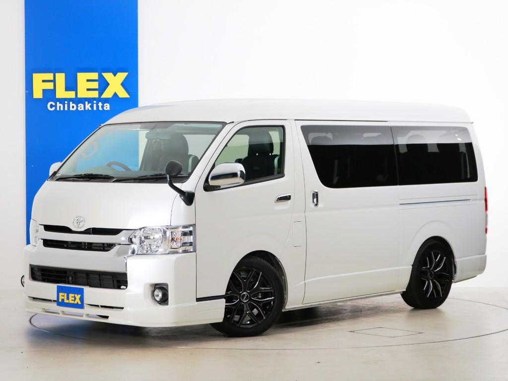 新車未登録 ハイエースワゴンGL ガソリン2WD トヨタ車体特別架装車【ファインテックツアラー】!