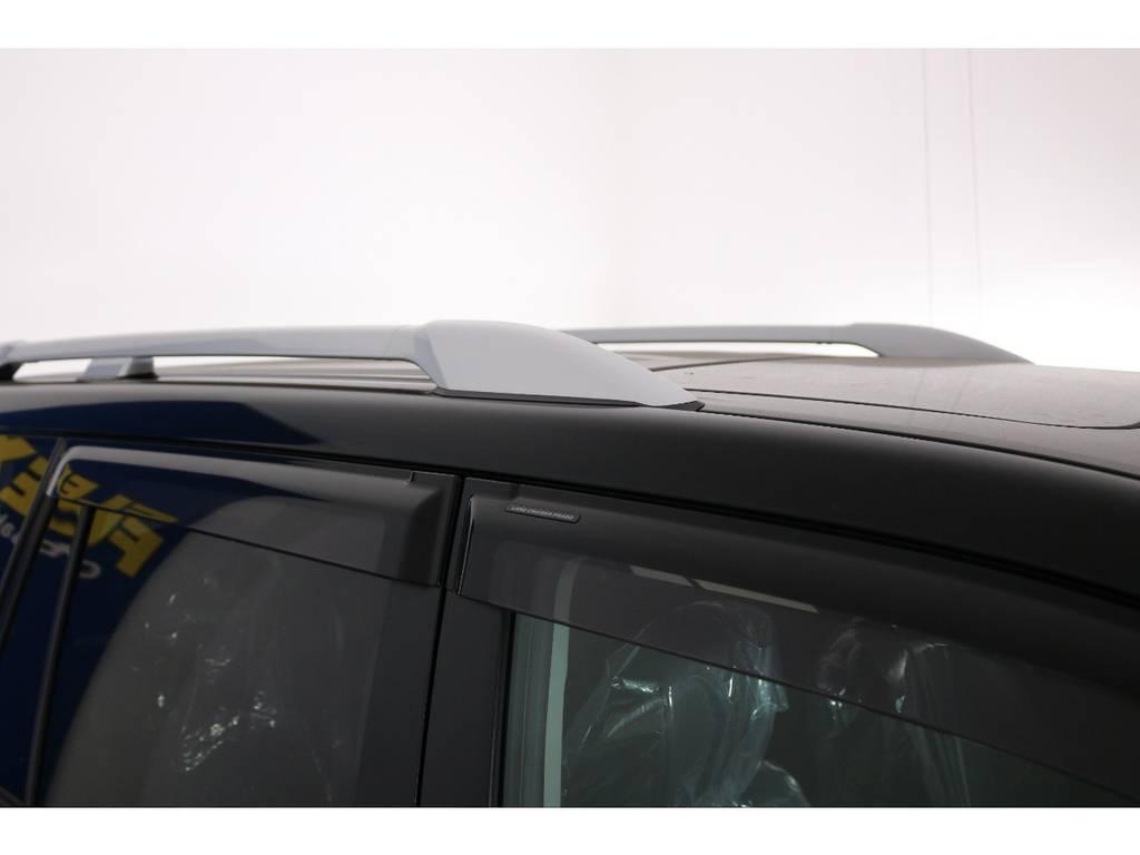 純正オプションルーフレール☆ | トヨタ ランドクルーザープラド 2.7 TX Lパッケージ 4WD 新車未登録 即ご納車OK