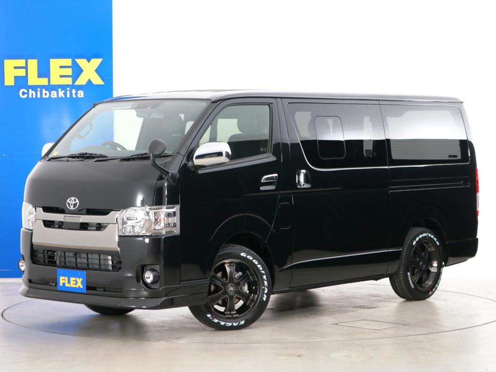 新車未登録 ハイエースバン S-GL DPⅡ FLEXオリジナル内装アレンジ【アレンジFU-N】!