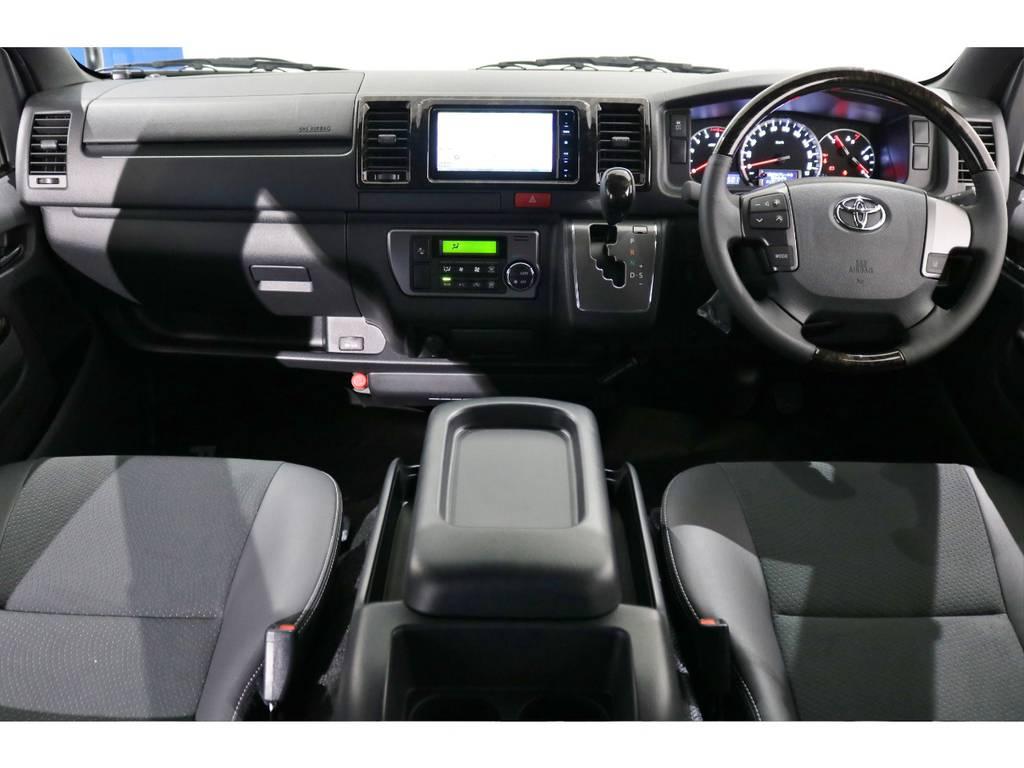 トヨタハイエースバン5D2.8DTスーパーGLダークプライムⅡL 4WD両側Pスラ付フローリング宮城県の詳細画像その11