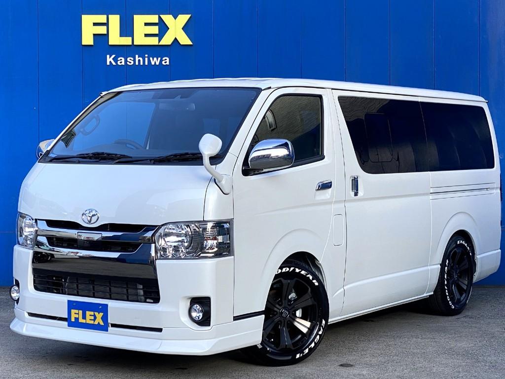 新車ハイエース スーパーGL ダークプライムⅡ FLEXオリジナル アレンジFU-Nが入庫しました!!