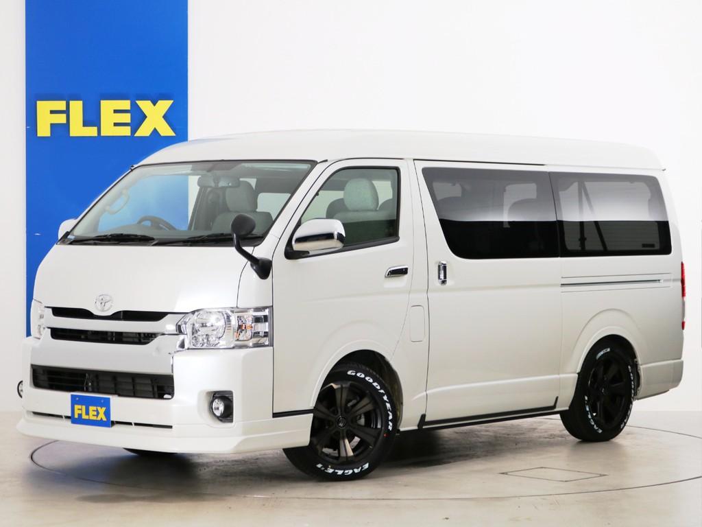 新車未登録 ハイエースワゴンGL ガソリン4WD FLEX内装アレンジ【Ver5】!