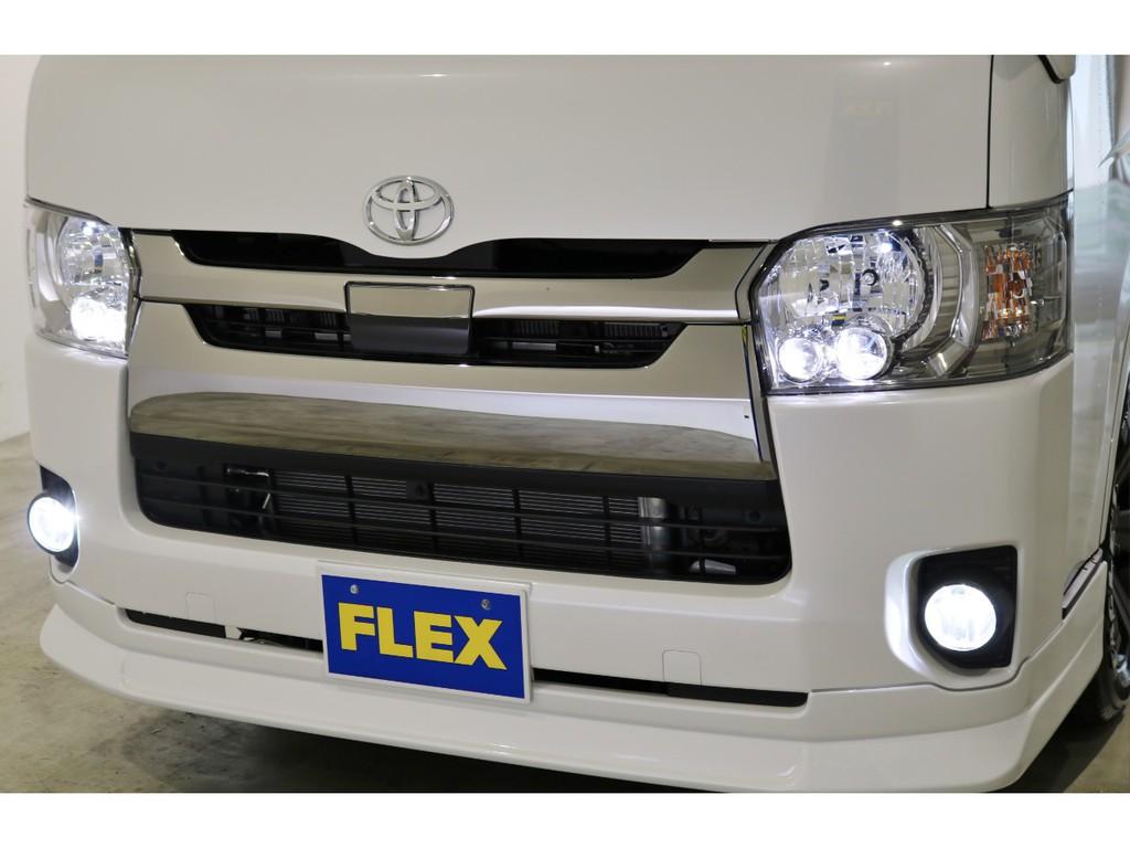 FLEXオリジナルULTIMATE LEDフォグバルブ&ポジション球&ナンバー灯&専用設計のルームランプも装着されております!